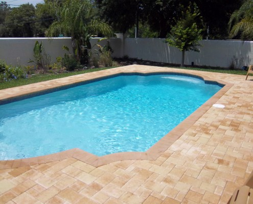 Tropical Pools And Pavers New Swimming Pools