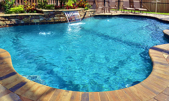 Tropical pools and pavers pool builders in florida - Neu swimming pool ...