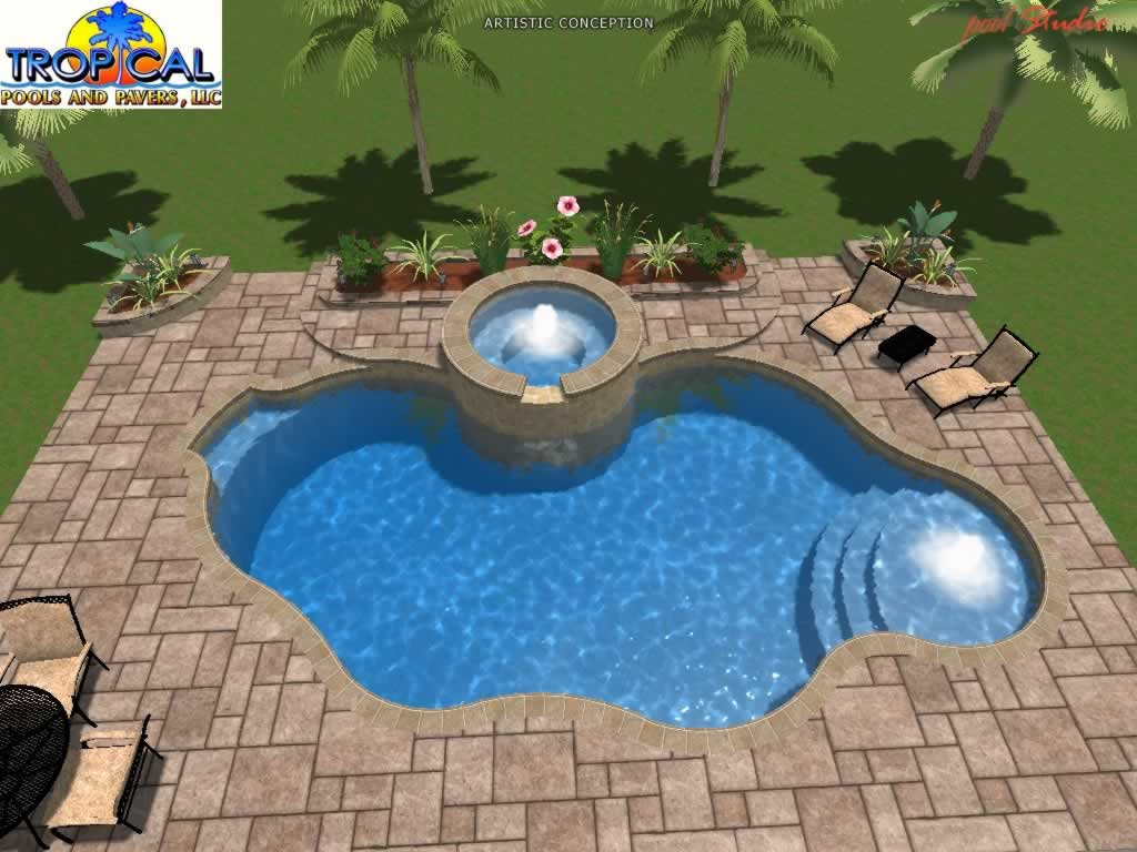 3d swimming pool design 0061