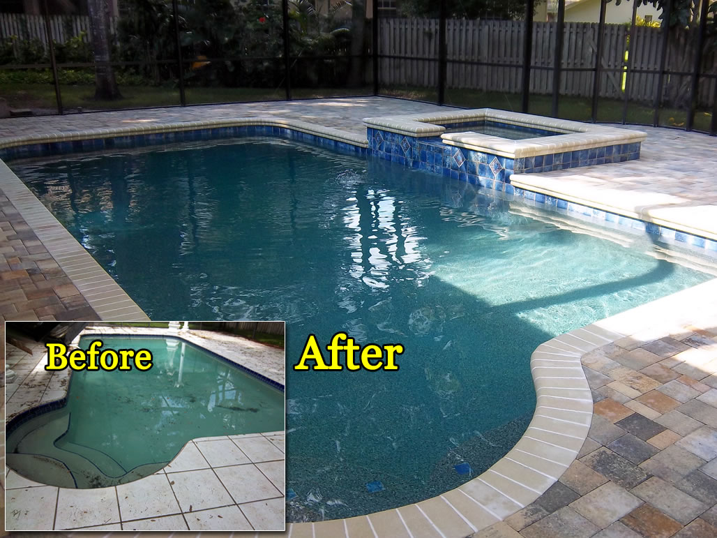 complete pool renovations tropical pools and pavers