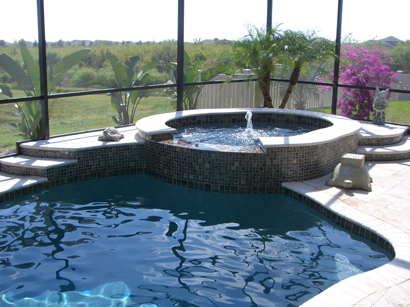 New Spa Construction Tropical Pools And Pavers