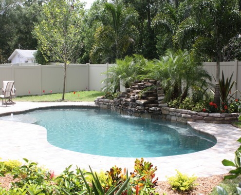New Swimming Pools Tropical And Pavers