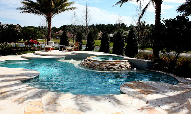 Tropical pools and pavers pool builders in florida - Best way to finance a swimming pool ...